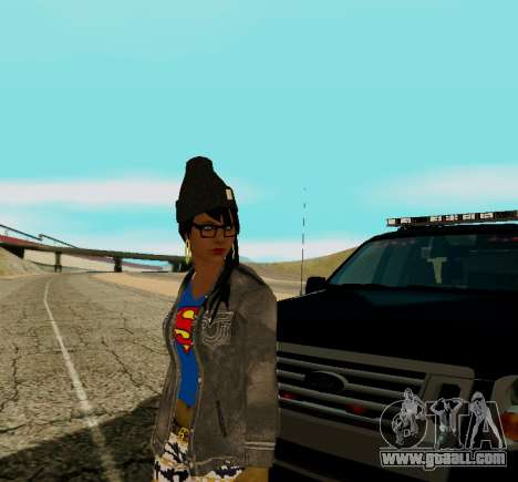 Girl Swagg for GTA San Andreas third screenshot