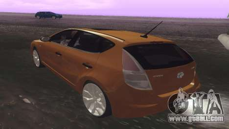 Hyundai i30 for GTA San Andreas right view