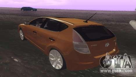 Hyundai i30 for GTA San Andreas right view