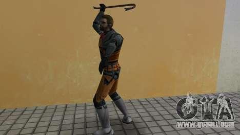 Gordon Freeman for GTA Vice City forth screenshot