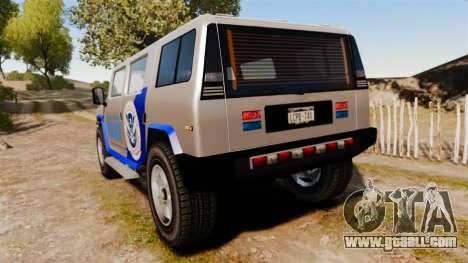 Patriot Police v2.0 for GTA 4 back left view
