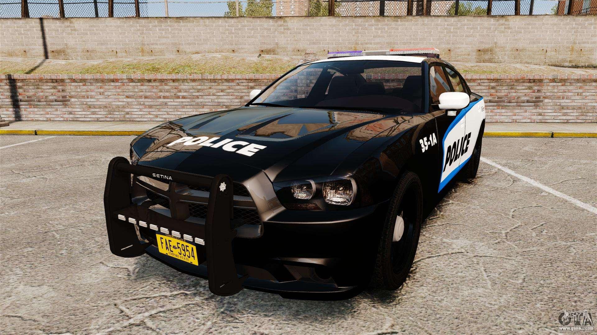 dodge charger 2013 liberty city police els for gta 4. Black Bedroom Furniture Sets. Home Design Ideas