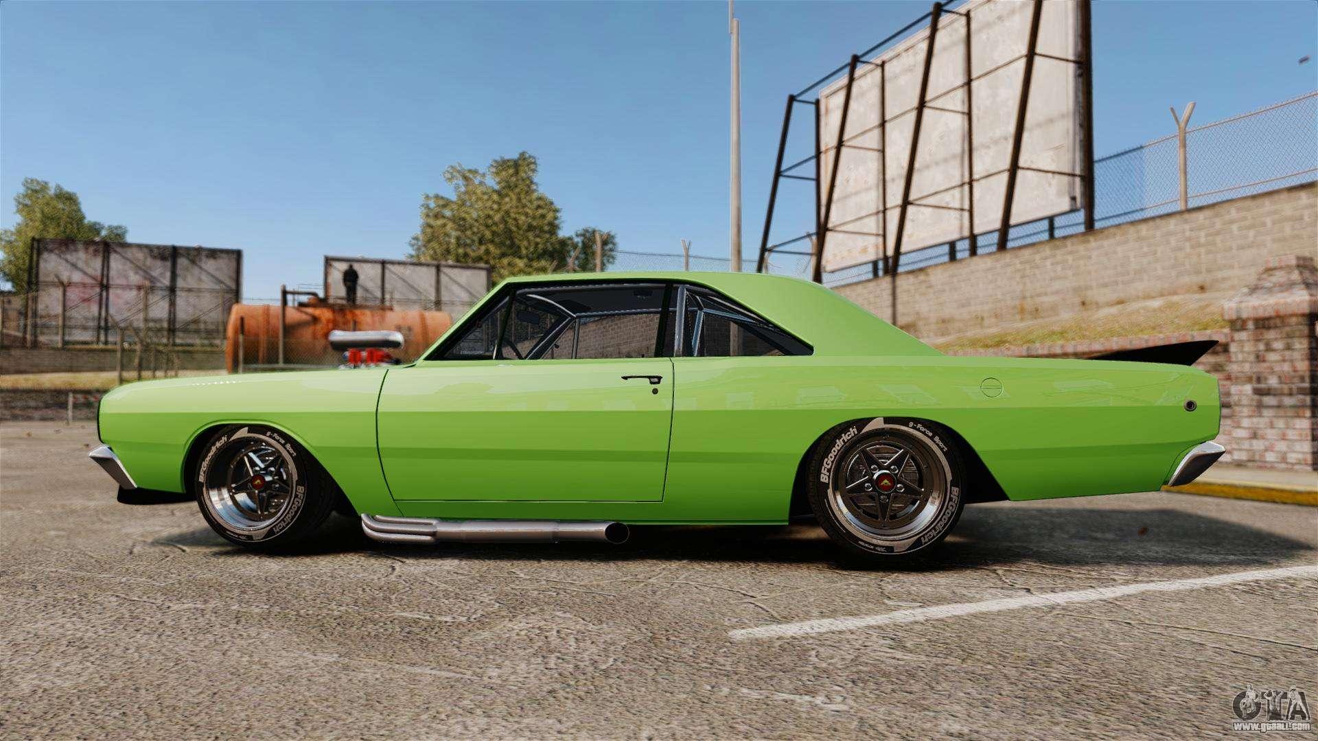 Dodge Dart 76 >> Dodge Dart 1968 for GTA 4