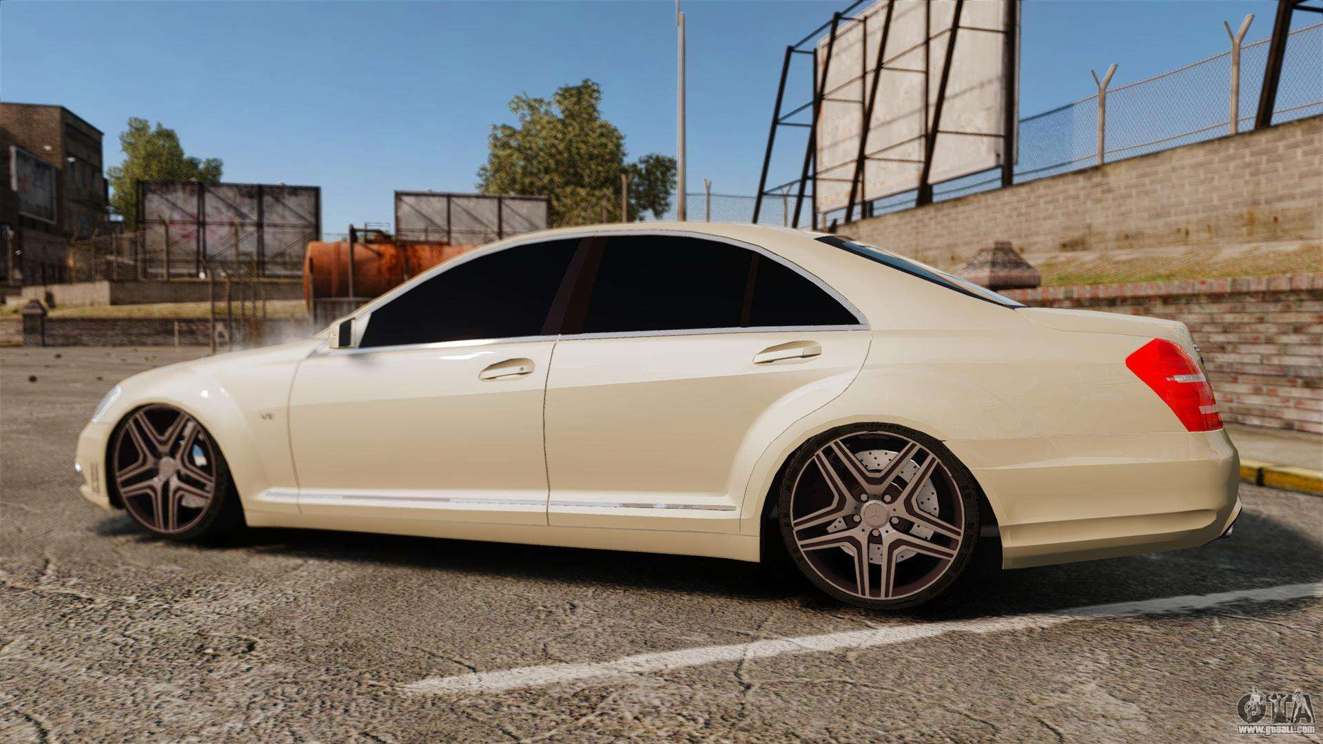 Mercedes benz s65 w221 amg for gta 4 for Mercedes benz amg s65