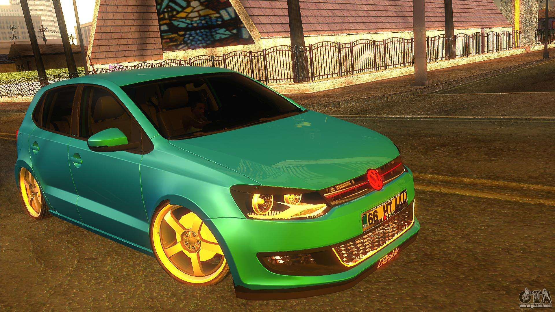 6 Passenger Vehicles >> Volkswagen Polo for GTA San Andreas