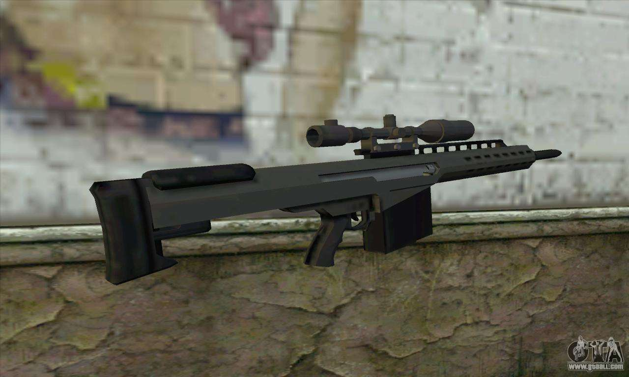 Gta V Heavy Sniper For Gta San Andreas