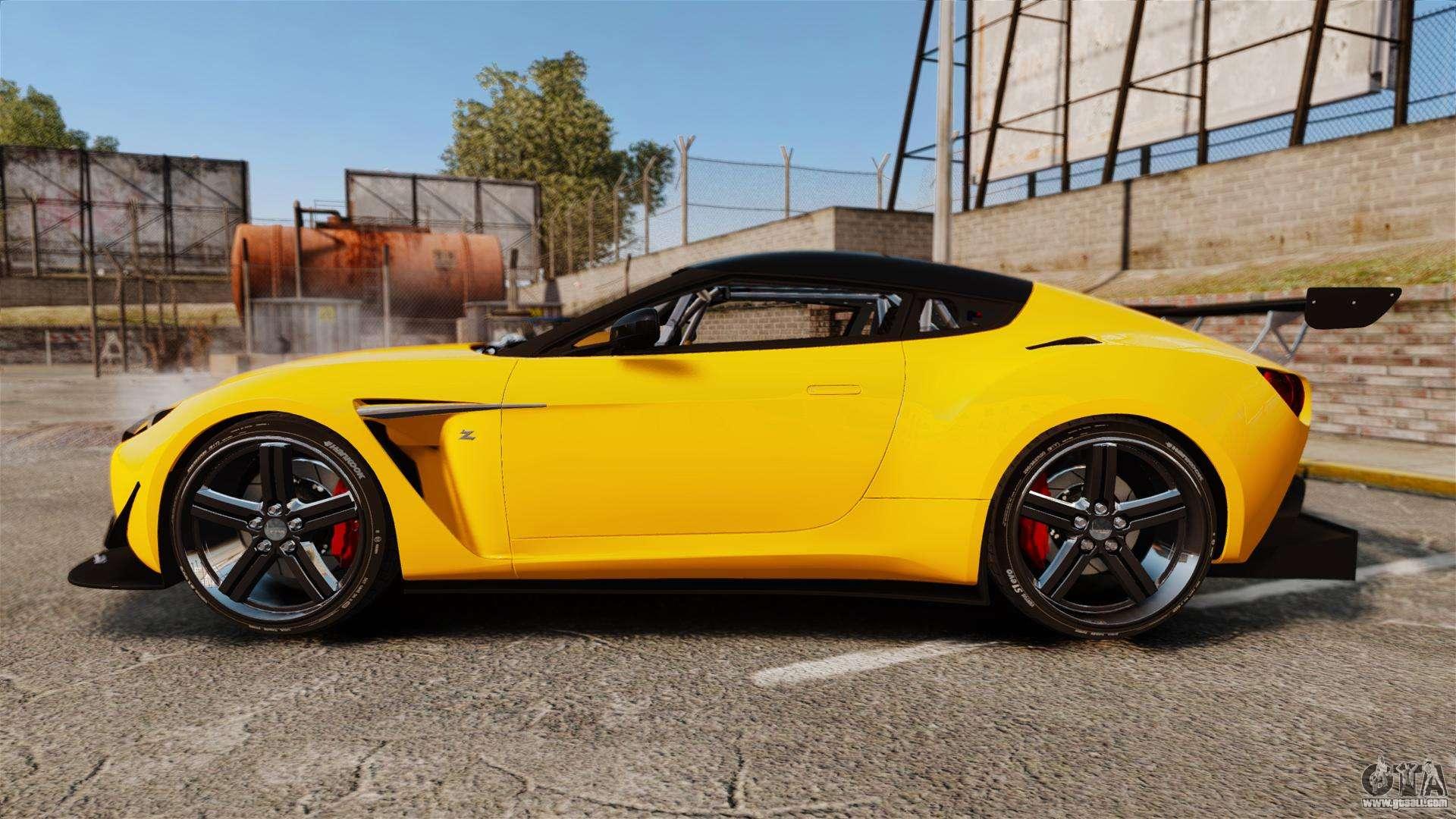 Aston Martin V Zagato For GTA - Aston martin v12 zagato