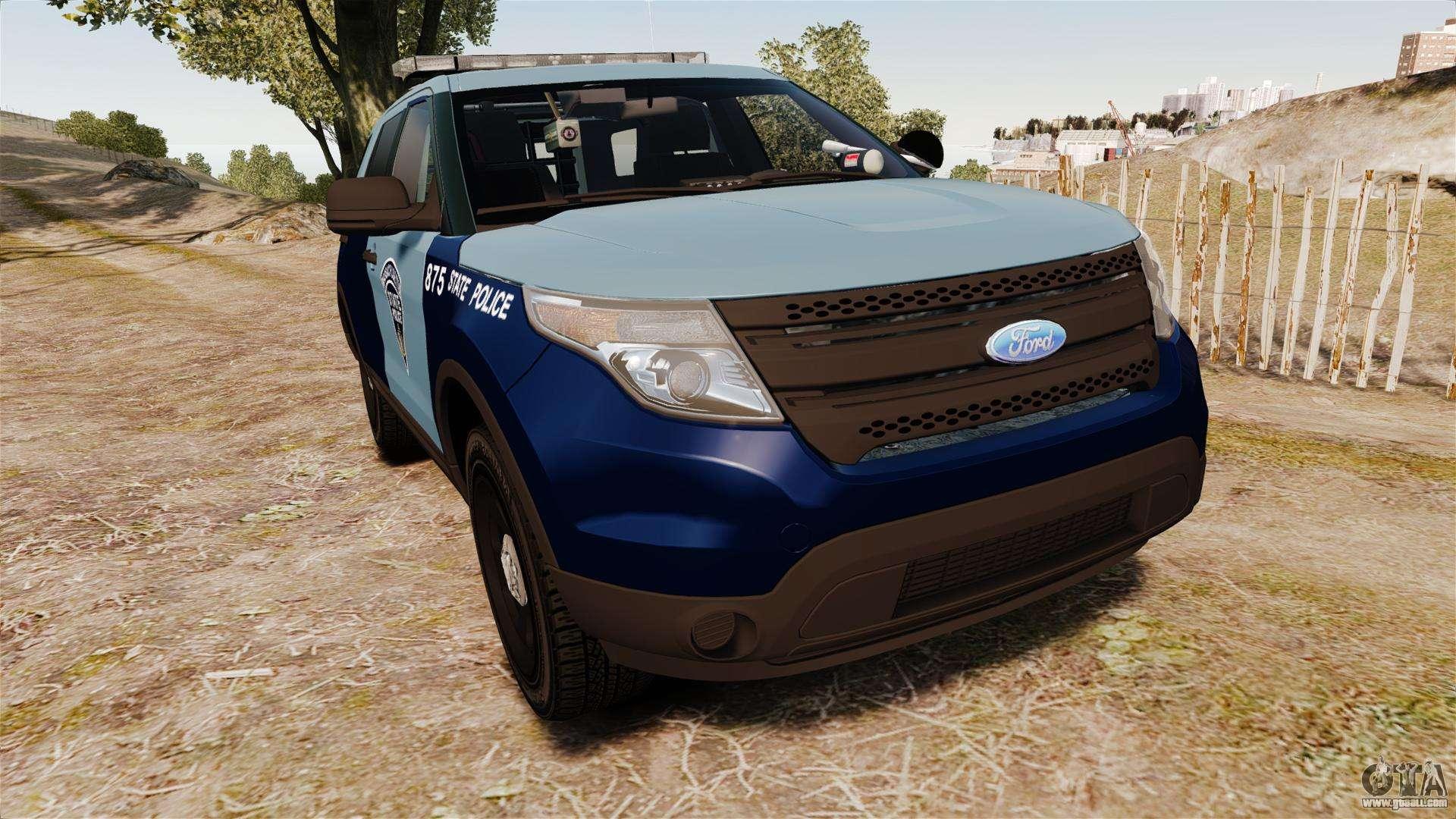Ford Explorer 2013 MSP [ELS] for GTA 4