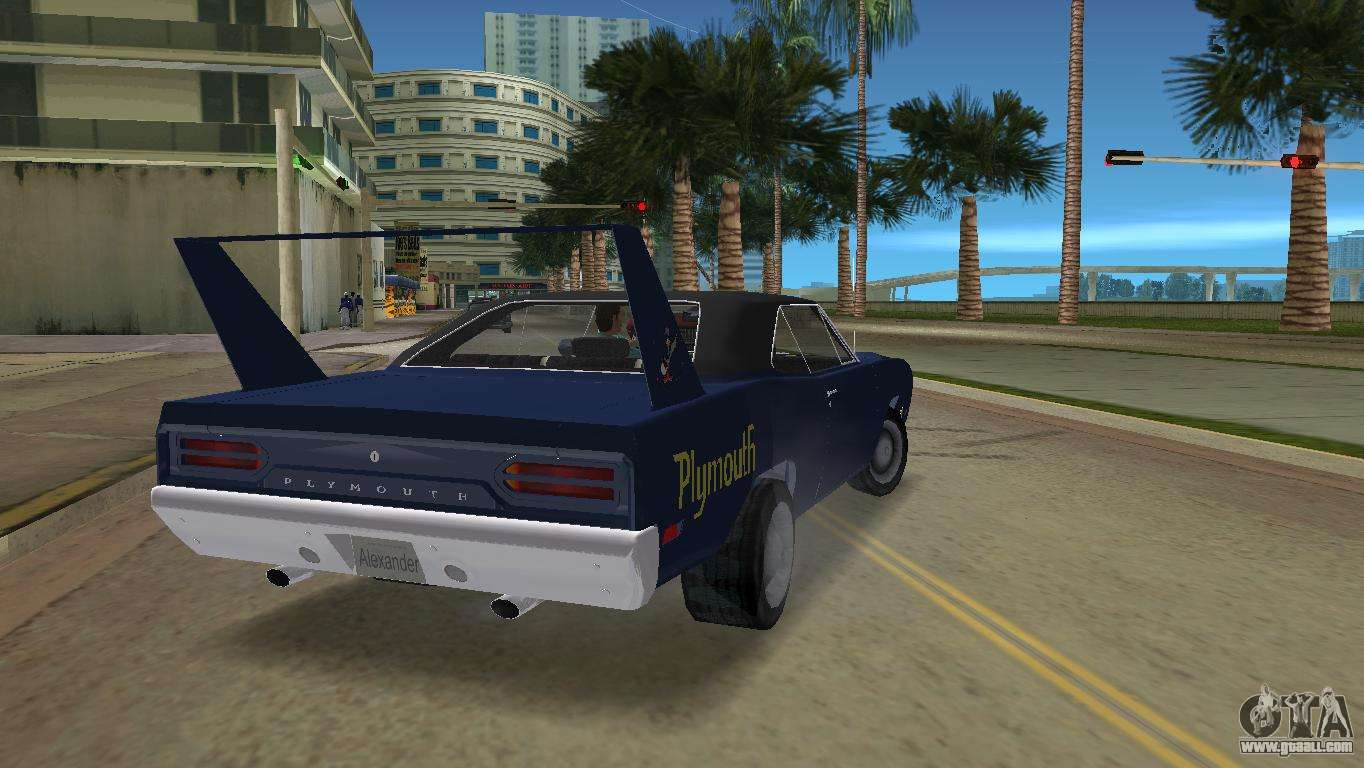 Plymouth Roadrunner Car In Gta Vice City