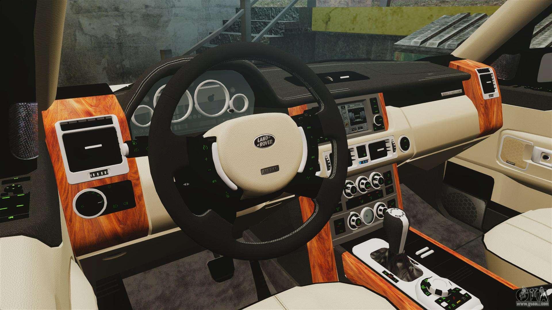 range rover supercharger 2008 for gta 4. Black Bedroom Furniture Sets. Home Design Ideas
