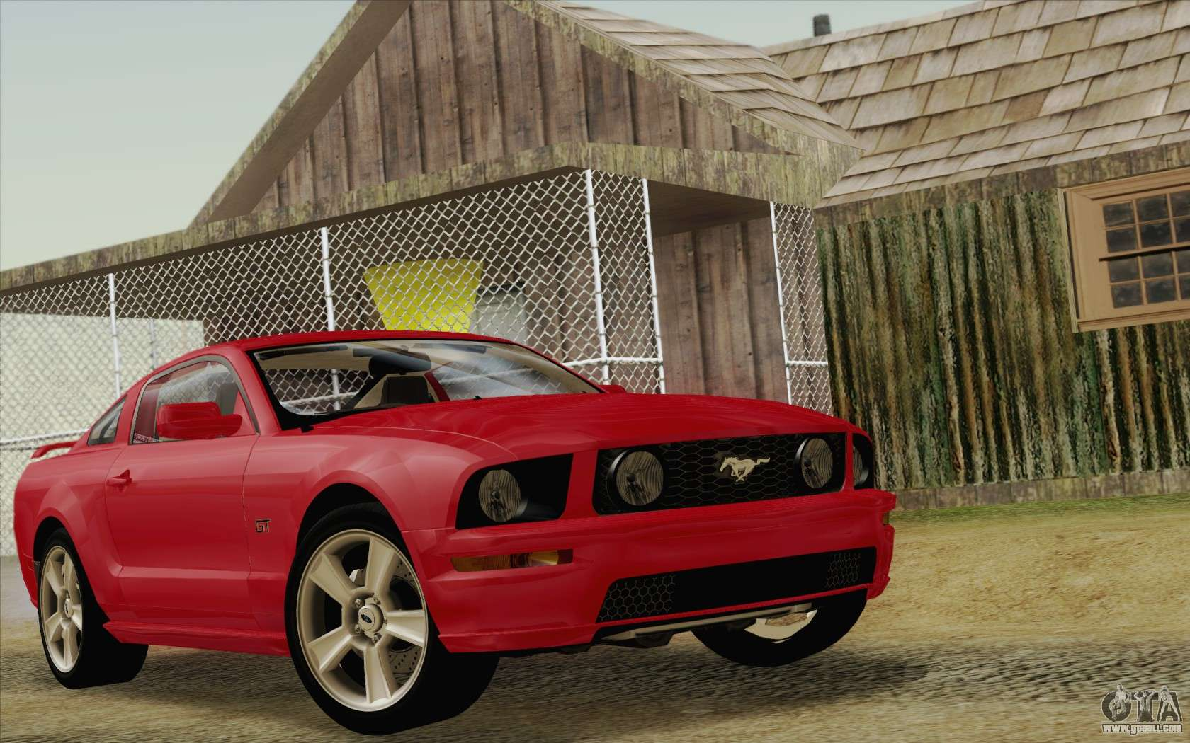 ford mustang gt 2005 for gta san andreas. Black Bedroom Furniture Sets. Home Design Ideas