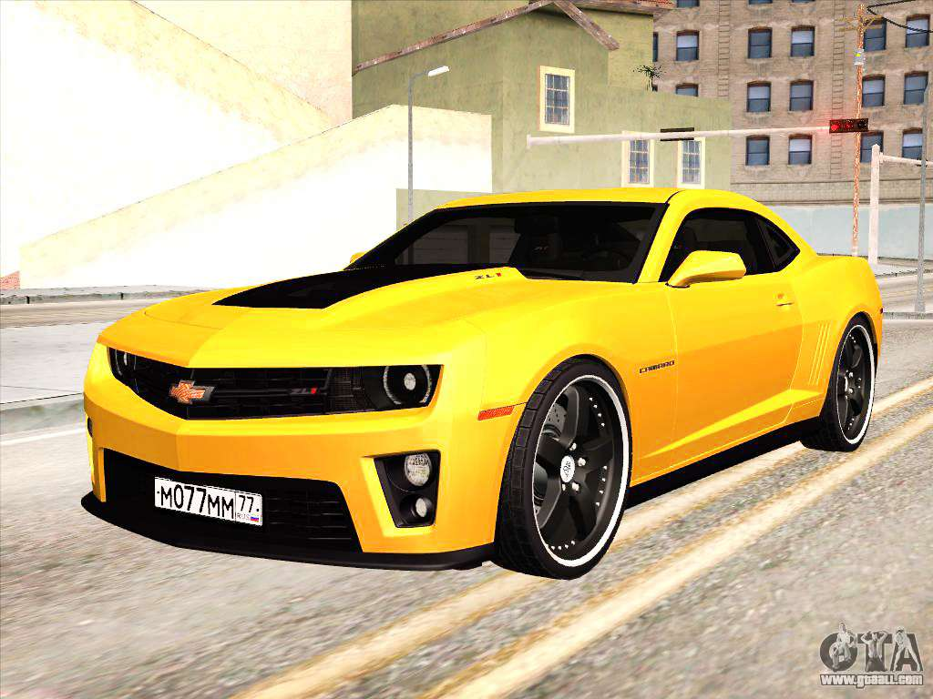 Chevrolet Camaro Zl1 2011 For Gta San Andreas