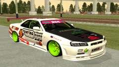 Nissan Skyline R-34 RDS