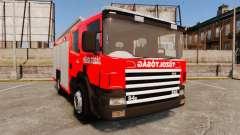 Hungarian fire truck [ELS]