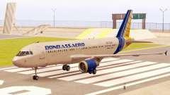 Airbus A320-200 Donbassaero for GTA San Andreas