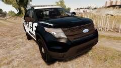 Ford Explorer 2013 Police Interceptor [ELS] for GTA 4