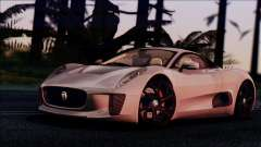 Jaguar C-X75 for GTA San Andreas