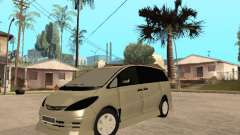 Toyota Estima Altemiss 2wd for GTA San Andreas
