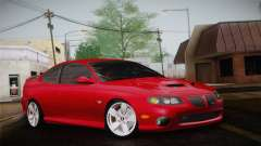 Pontiac GTO 2005 for GTA San Andreas