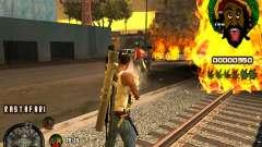 C-HUD Rastafari for GTA San Andreas