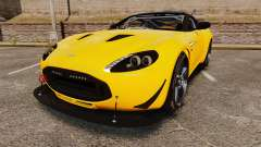 Aston Martin V12 Zagato for GTA 4