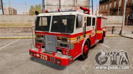 Fire Truck v1.4A FDLC [ELS] for GTA 4
