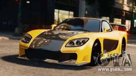 Mazda RX7 Veilside V8 for GTA 4