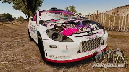 Peugeot 307 WRC The Idolmaster Cinderella Girls for GTA 4