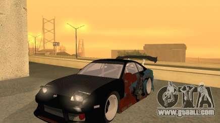 Nissan 150sx Evil Empire for GTA San Andreas