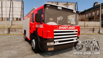Hungarian fire truck [ELS] for GTA 4