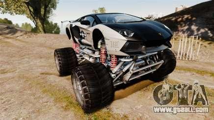 Lamborghini Aventador LP700-4 [Monster truck] for GTA 4