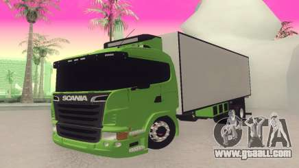 Scania 310 Bau for GTA San Andreas