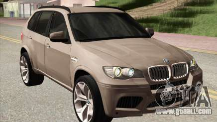 BMW X5M E70 2010 for GTA San Andreas