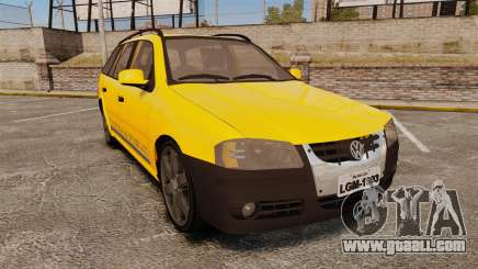 Volkswagen Parati G4 Track and Field 2013 for GTA 4