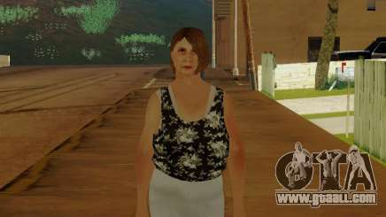 An elderly woman v.2 for GTA San Andreas