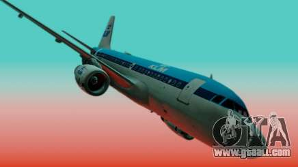 Airbus A319 KLM for GTA San Andreas