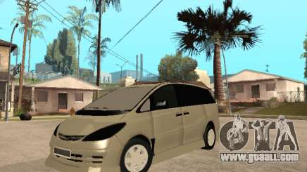 Toyota Estima Altemiss 2wd for GTA San Andreas