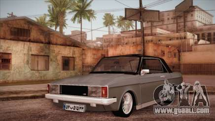Peykan 80 Blackroof for GTA San Andreas