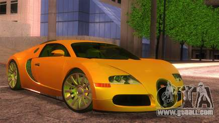 Bugatti Veyron 2009 for GTA San Andreas