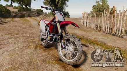 Kawasaki KX250F (Honda CRF450) for GTA 4