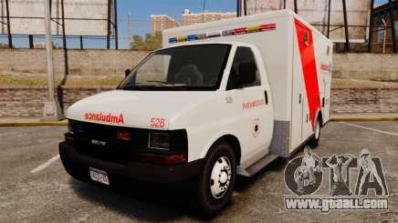 Brute Speedo RLMS Ambulance [ELS] for GTA 4