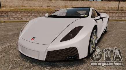 GTA Spano for GTA 4