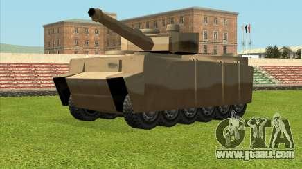 Rhino tp.Tiger for GTA San Andreas
