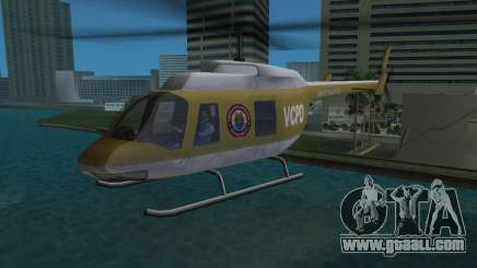 Police Helicopter from GTA VCS for GTA Vice City