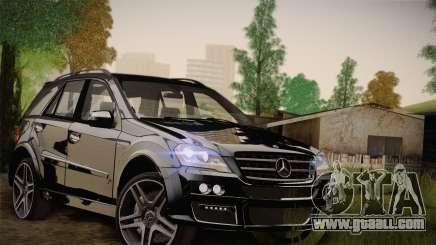 Mercedes-Benz ML63 for GTA San Andreas