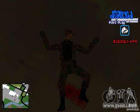 C-Hud Diamond RP for GTA San Andreas fifth screenshot