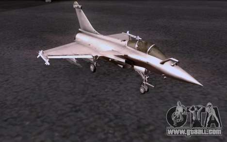Dassault Rafale M for GTA San Andreas back left view