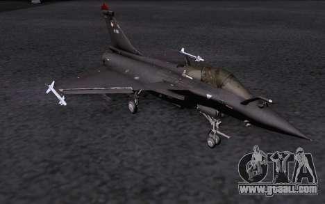 Dassault Rafale M for GTA San Andreas interior