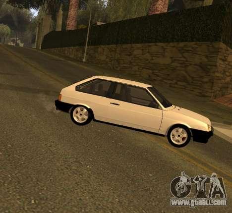 ВАЗ 2108 GVR Version 2.0 for GTA San Andreas