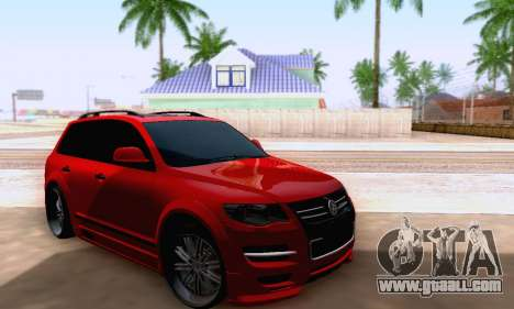 Volkswagen Touareg Mansory for GTA San Andreas right view
